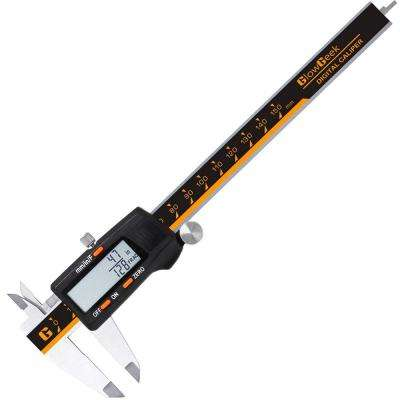 6 in. Stainless Steel 3-Modes Digital Caliper with LCD Readout