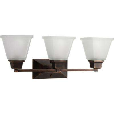 North Park Collection 3-Light Venetian Bronze Vanity Fixture