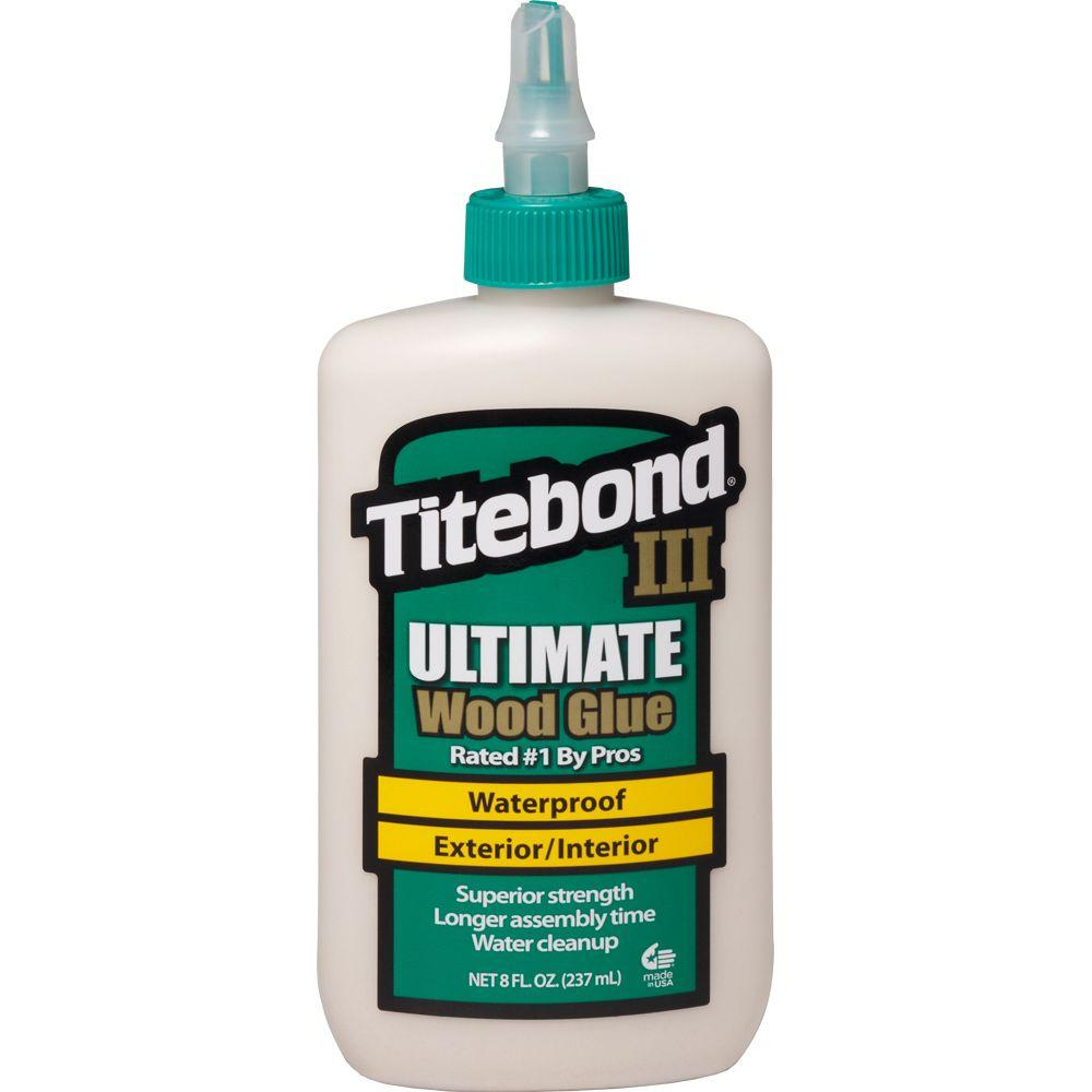 8 oz. Titebond III Ultimate Wood Glue (12-Pack)