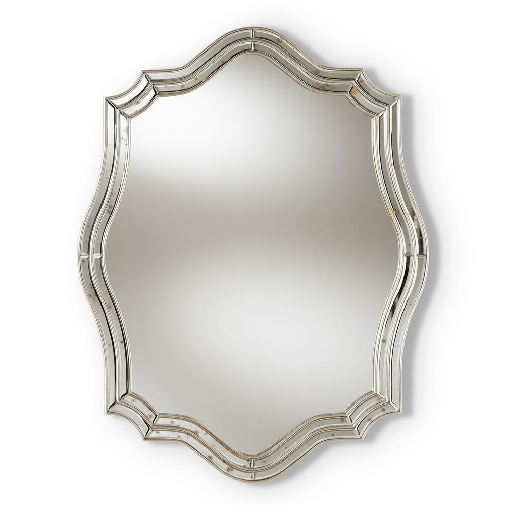 Isidora Antique Silver Wall Mirror