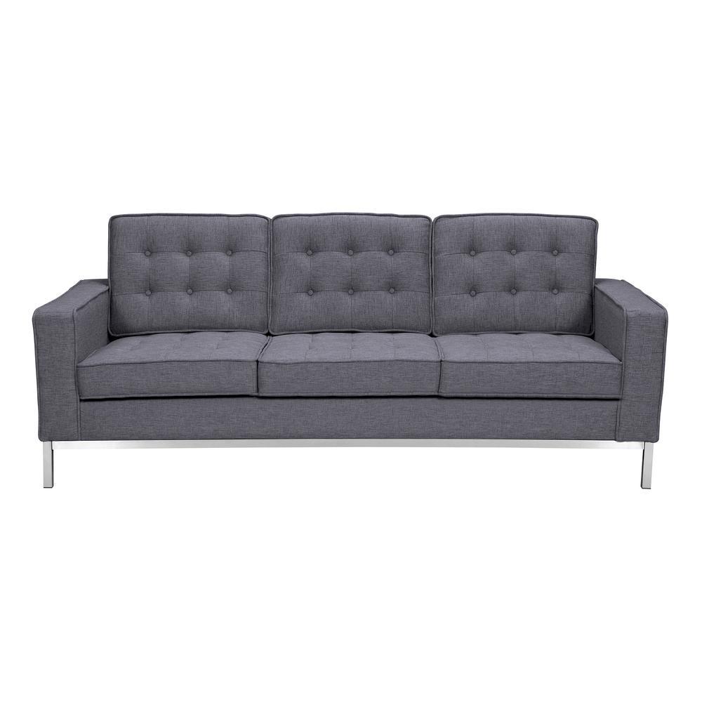 Chandler Dark Grey Sofa