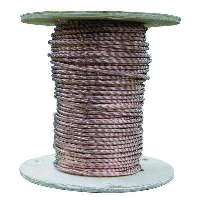 500 ft. 18-Gauge Stranded SD Bare Copper Grounding Wire