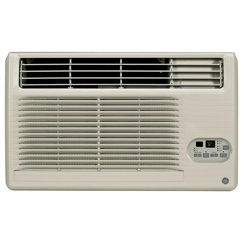 GE 10,200 BTU 115-Volt Built-In Cool-Only Room Air Conditioner in Gray