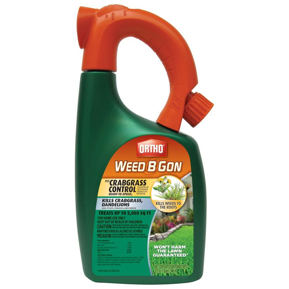 Ortho Weed B Gon 32 oz. Max Plus Ready-To-Spray Crabgrass Control