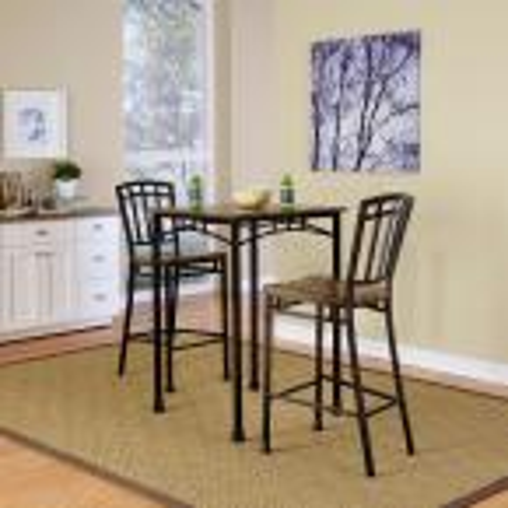 Home Styles Modern Craftsman Distressed Oak Pub/Bar Table
