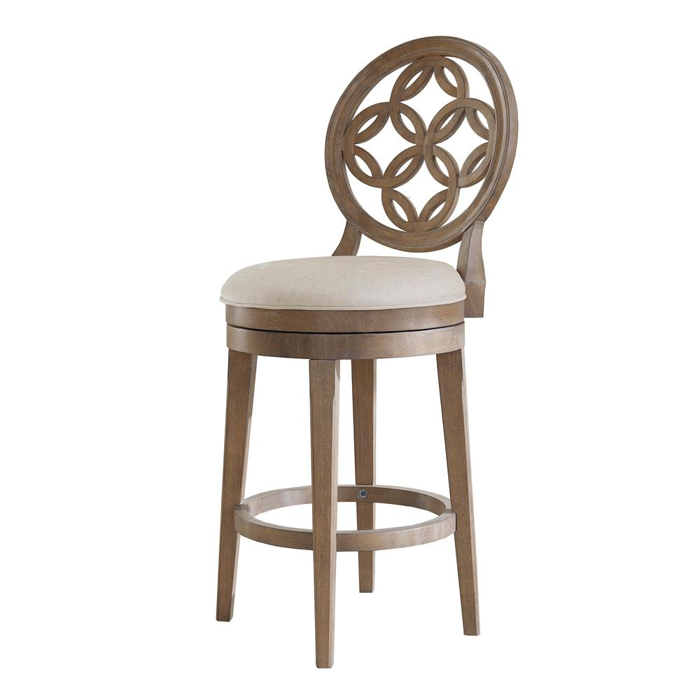 Hillsdale Bar Stools: Hillsdale Furniture Savona 26 In. Swivel Counter Stool In