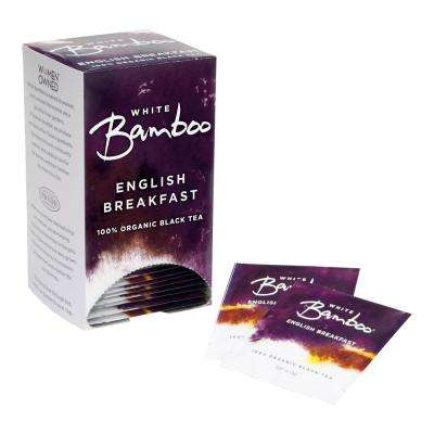 Tea Organic English Breakfast 25-Tea Bags (6-Boxes)