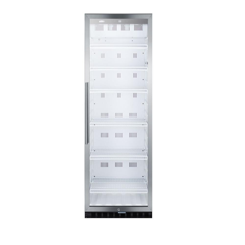 Summit Appliance 24 in. 12.6 cu. Ft. Commercial Refrigerator in Stainless Steel