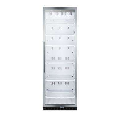 24 in. 12.6 cu. Ft. Commercial Refrigerator in Stainless Steel