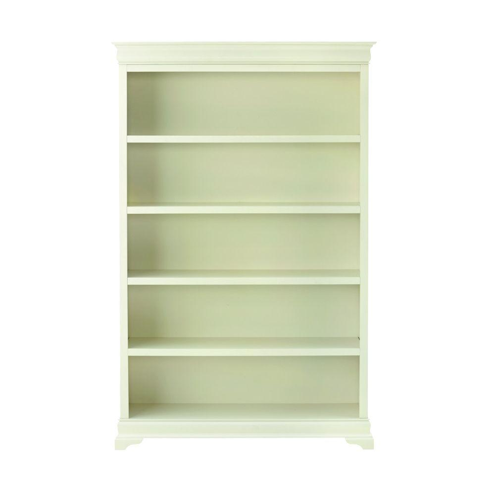 Home decorators collection louis philippe polar white open Home depot decor