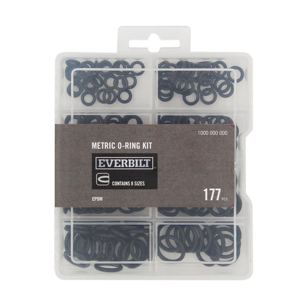 177-Piece Metric O-Ring Assortment Kit