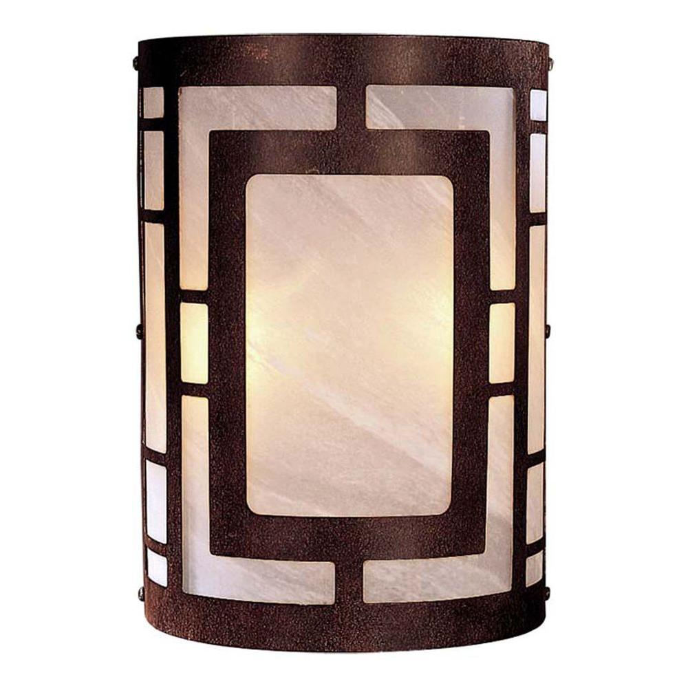 capitol cfm inch sconce lavery and wide lighting glass minka shown wall deep item iron patina spumanto in finish lace clarte