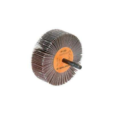 COOLCUT 3 in. x 1 in. GR:120 Sanding Flap Wheels