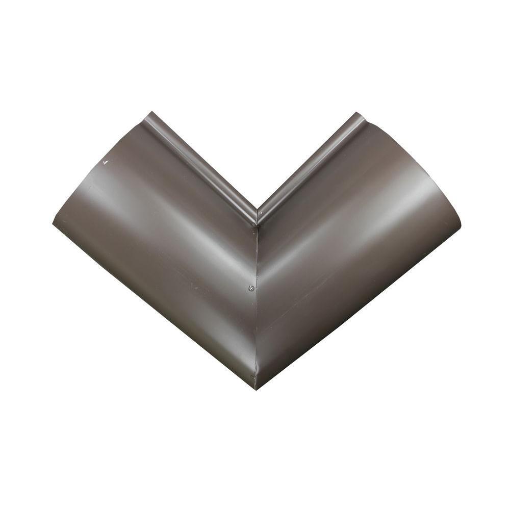 Spectra Metals 6 In Half Round Musket Brown Aluminum