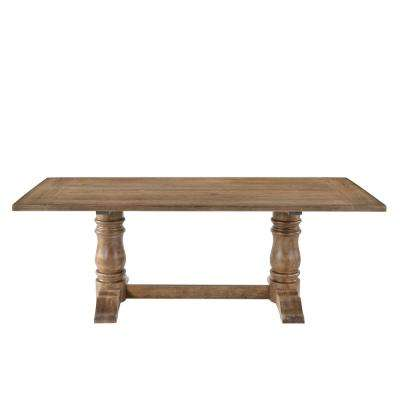 Leventis Weathered Oak Dining Table