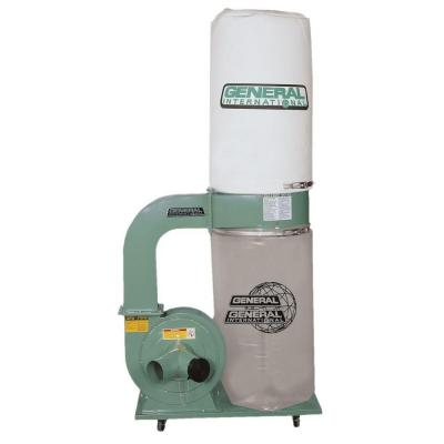 Jet 1 5 HP 1100 CFM 4 or 6 in  Dust Collector with Vortex Cone and 5