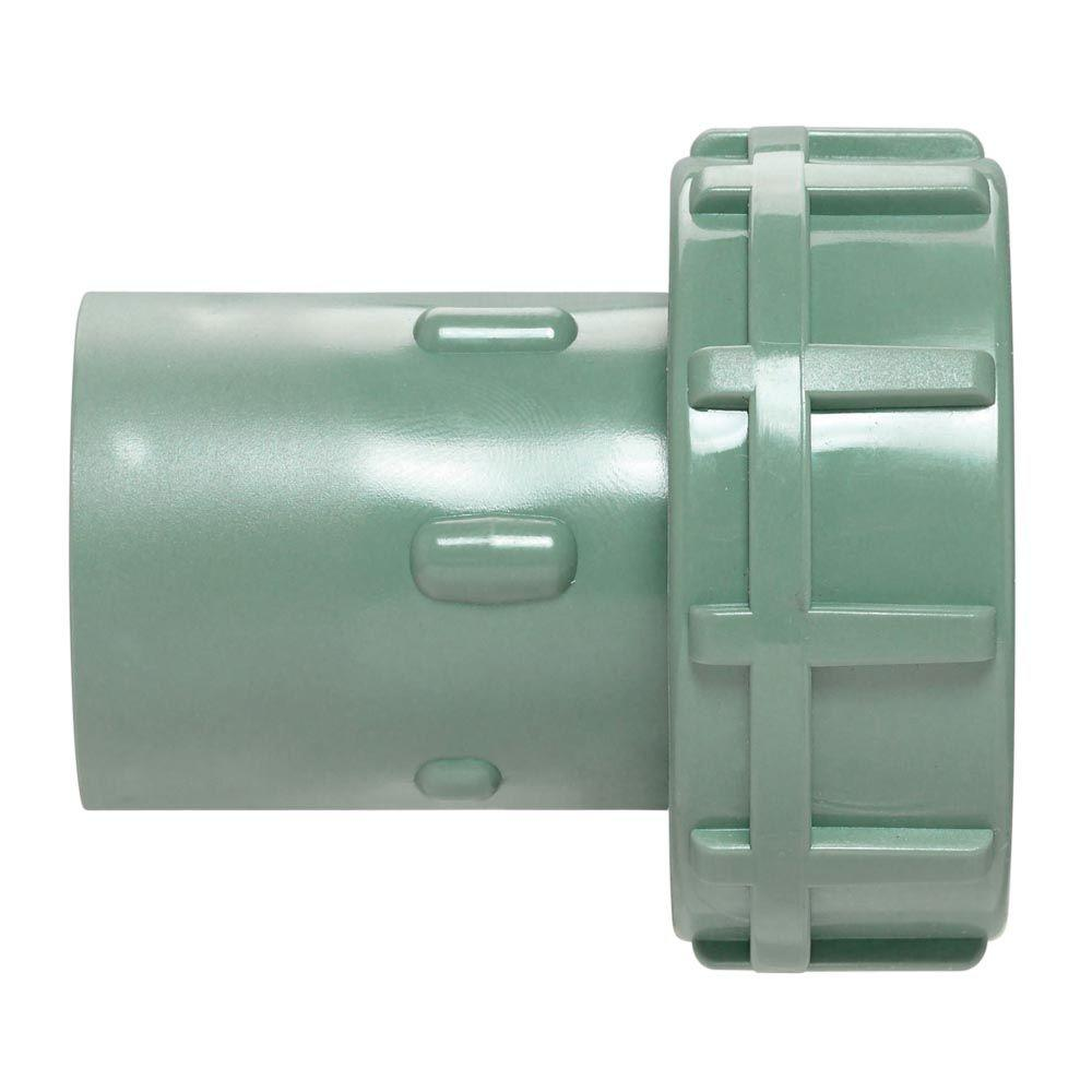 1 in. or 3/4 in. PVC Manifold Slip Swivel Adapter