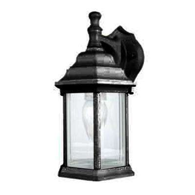Cortelyou 1-Light Black Outdoor Wall Lantern