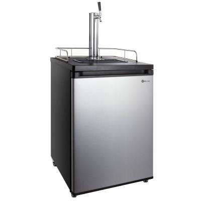 Single Tap Stainless Steel Kegerator