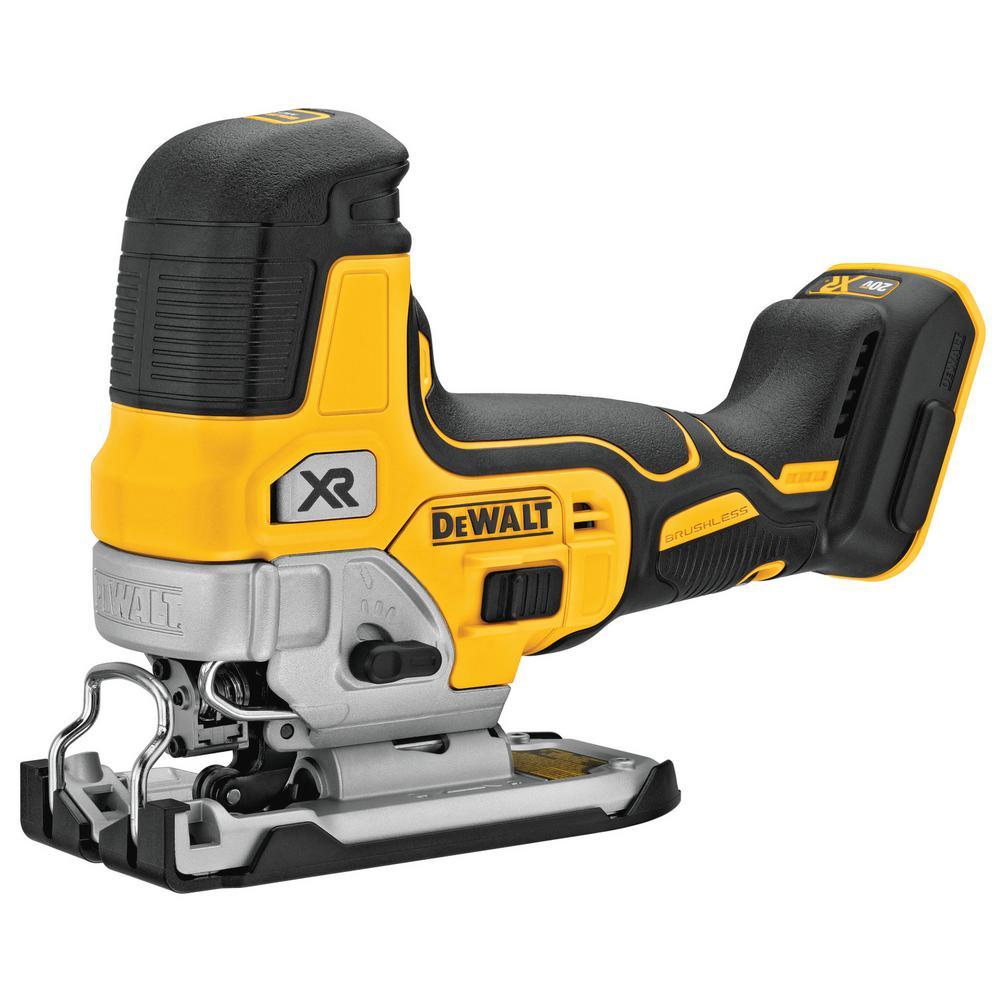 DEWALT 20-Volt MAX Cordless Body Grip Jig Saw (Tool-Only)