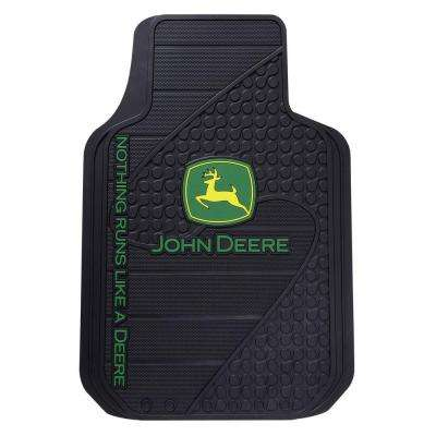 John Deere Heavy Duty Vinyl 31 in. x 18 in. Floor Mat