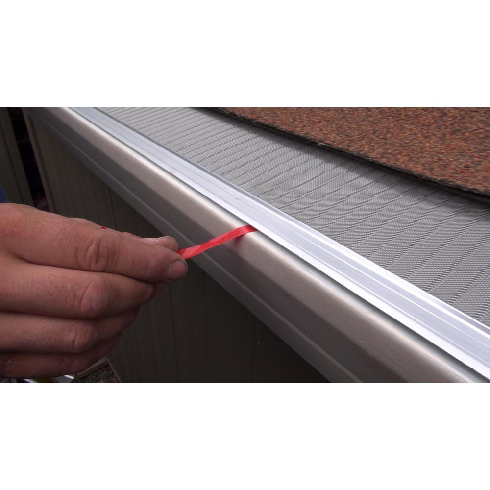 4 Ft Stainless Steel Rain Gutter Guard Filter Mesh Screen
