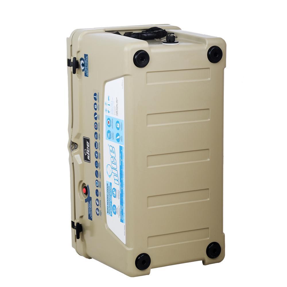75 qt. Beige Cooler