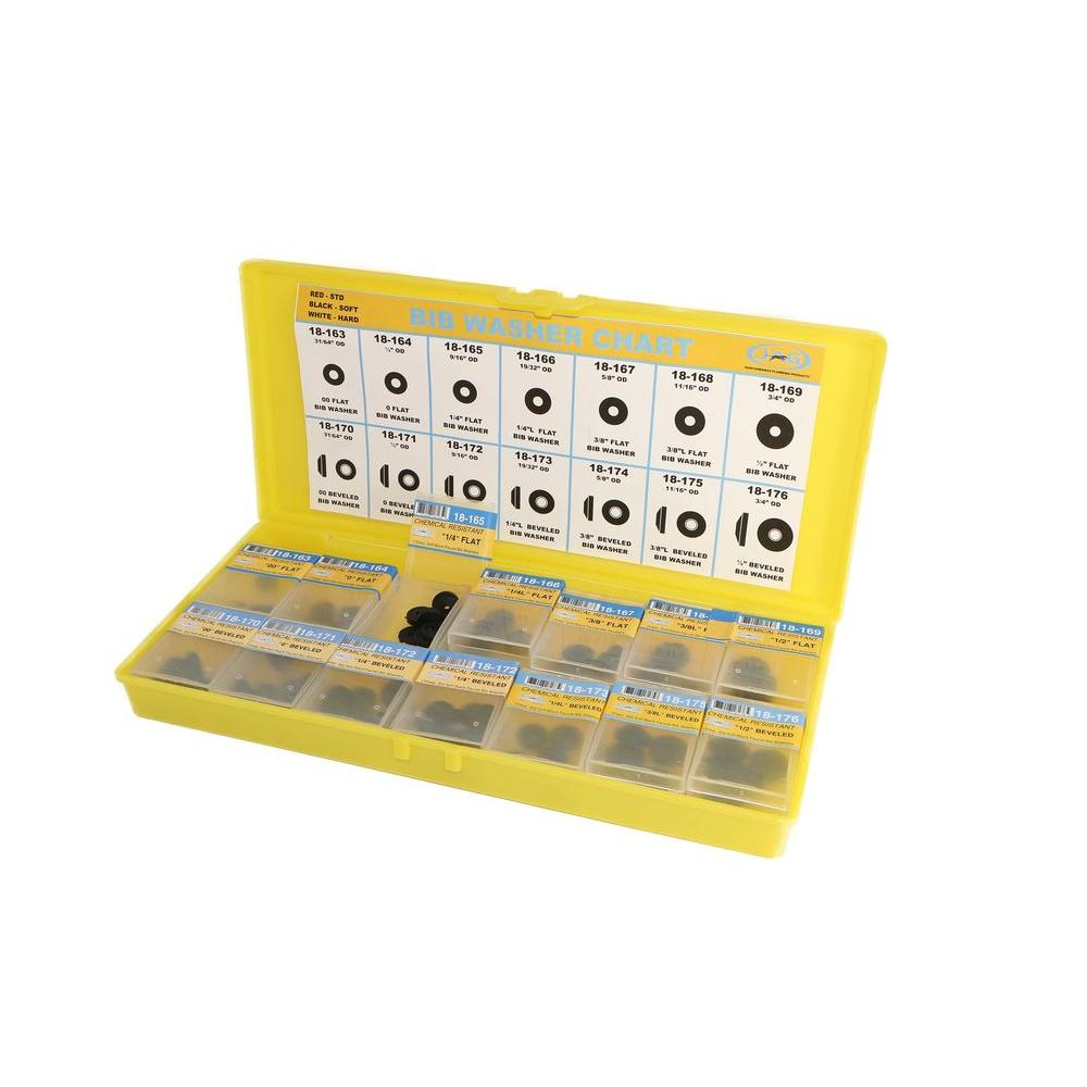 JAG PLUMBING PRODUCTS Soft Bibb Washer Assortment Kit-18-110 - The ...