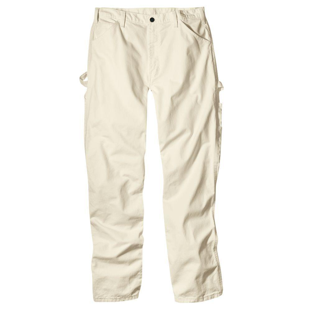 Dickies Relaxed Fit 36-30 Natural Painters Pant