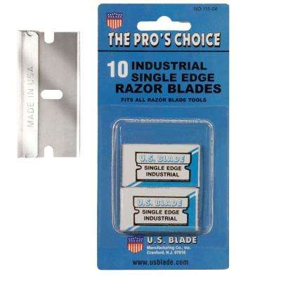 150 Single Edge Blades 10-Pack carded set of 15