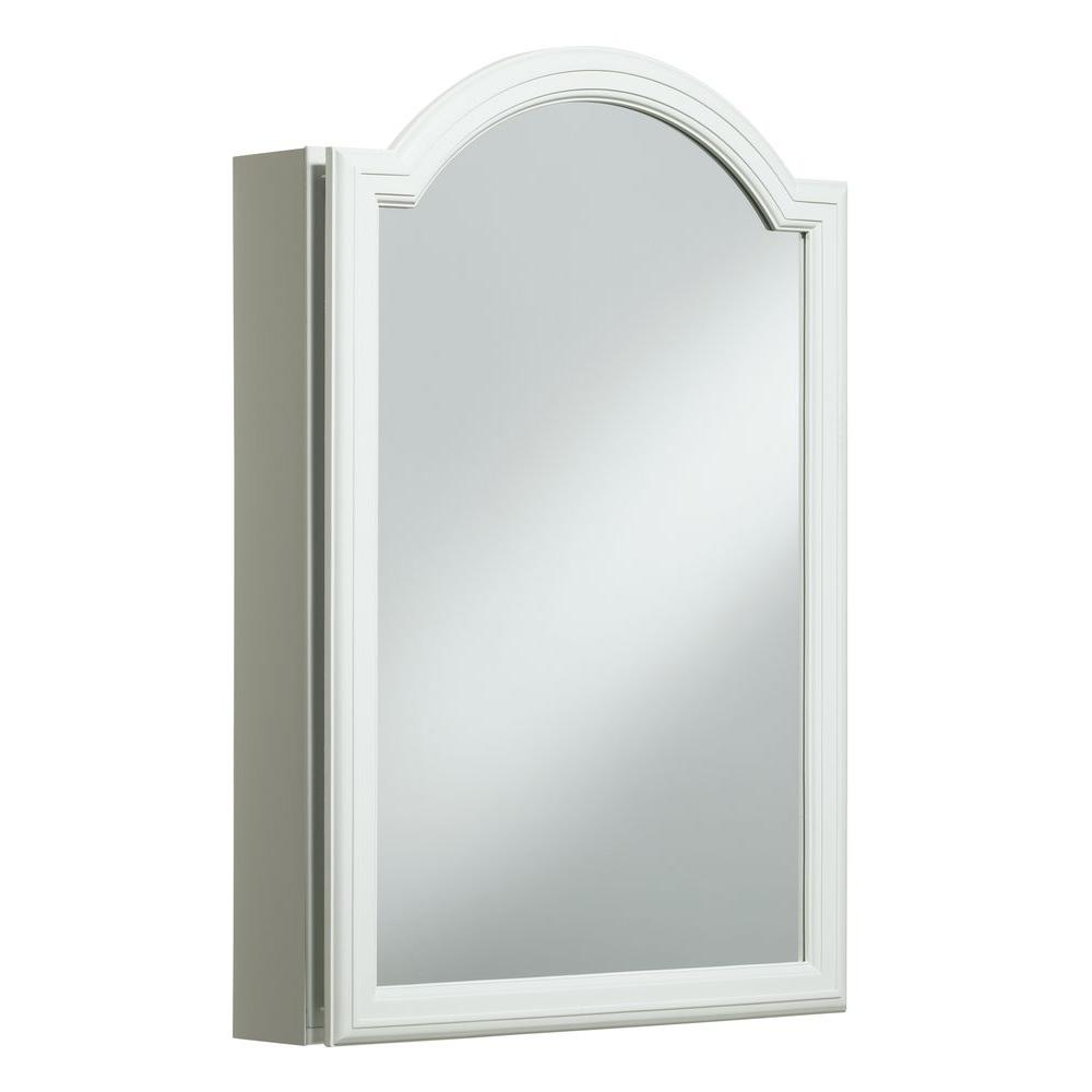 KOHLER Devonshire 20 in W x 29 5 H x 5 25 in D Single Door