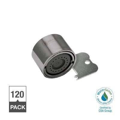 1.0 GPM Tamperproof Female Thread Needle Spray Faucet Aerator (120-Pack)