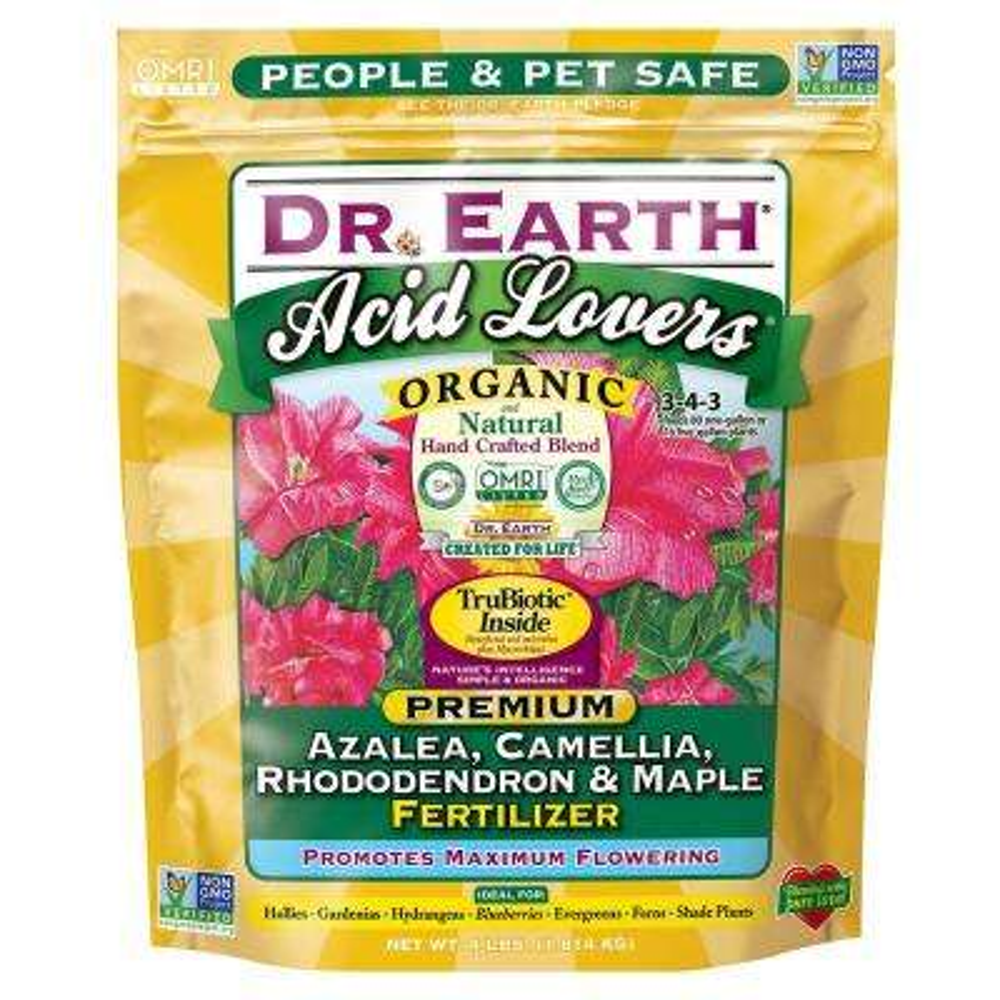 4 lbs. Acid Lovers Azalea Camellia Rhododendron and Maple Fertilizer Dry Fertilizer