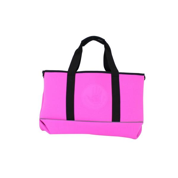 Pink and Black High Tide Medium All Day Tote Bag