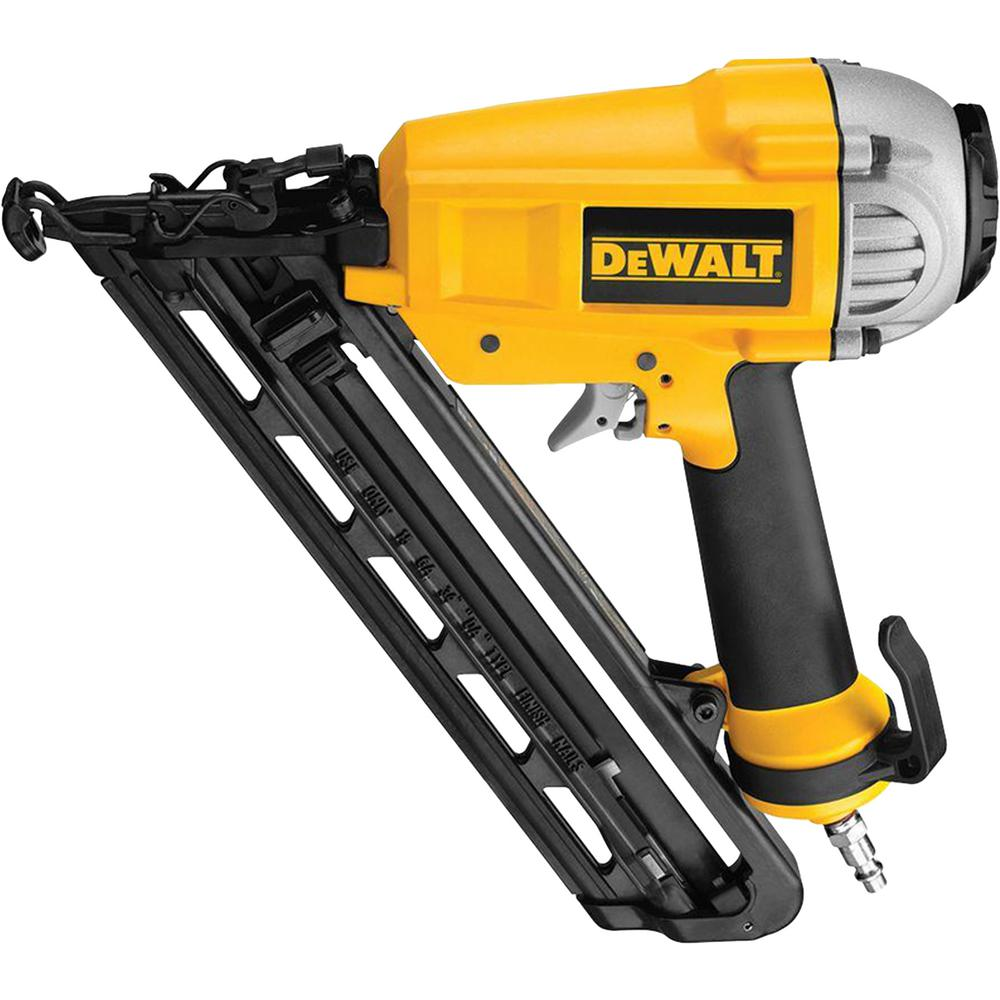 DEWALT 15-Gauge Pneumatic 1 in. - 2-1/2 in. Nailer-D51276K ...