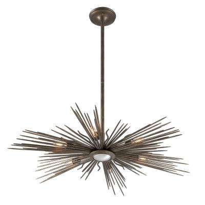 Blink 6-Light Light Cottage Bronze Outdoor Pendant