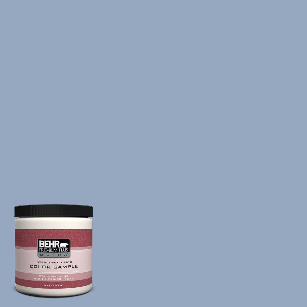BEHR Premium Plus Ultra 8 oz. #PPU14-8 Paris Interior/Exterior Paint Sample