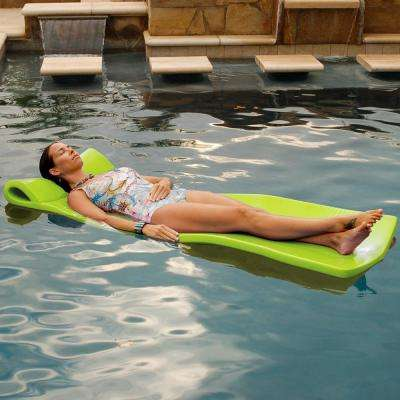 Large Foam Mattress Lime Pool Float
