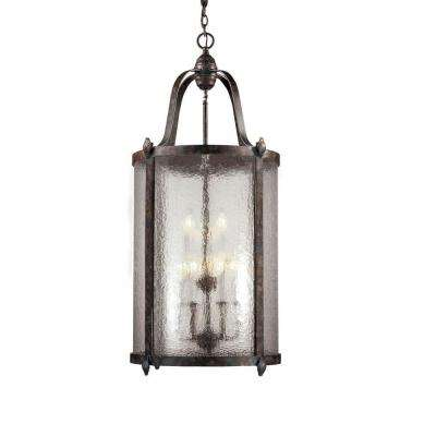 Old Sturbridge Collection 9-Light Oxide Bronze Hanging Pendant