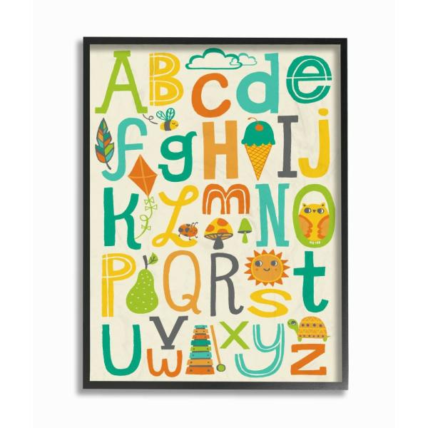 The Kids Room By Stupell 16 In X 20 In Teal Orange And Green