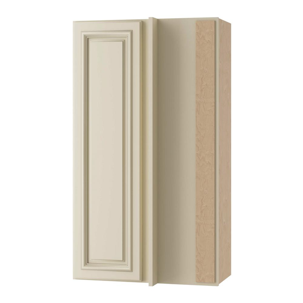 Home Decorators Collection Holden Assembled 24x42x12 In Single Door Hinge Right Wall Kitchen
