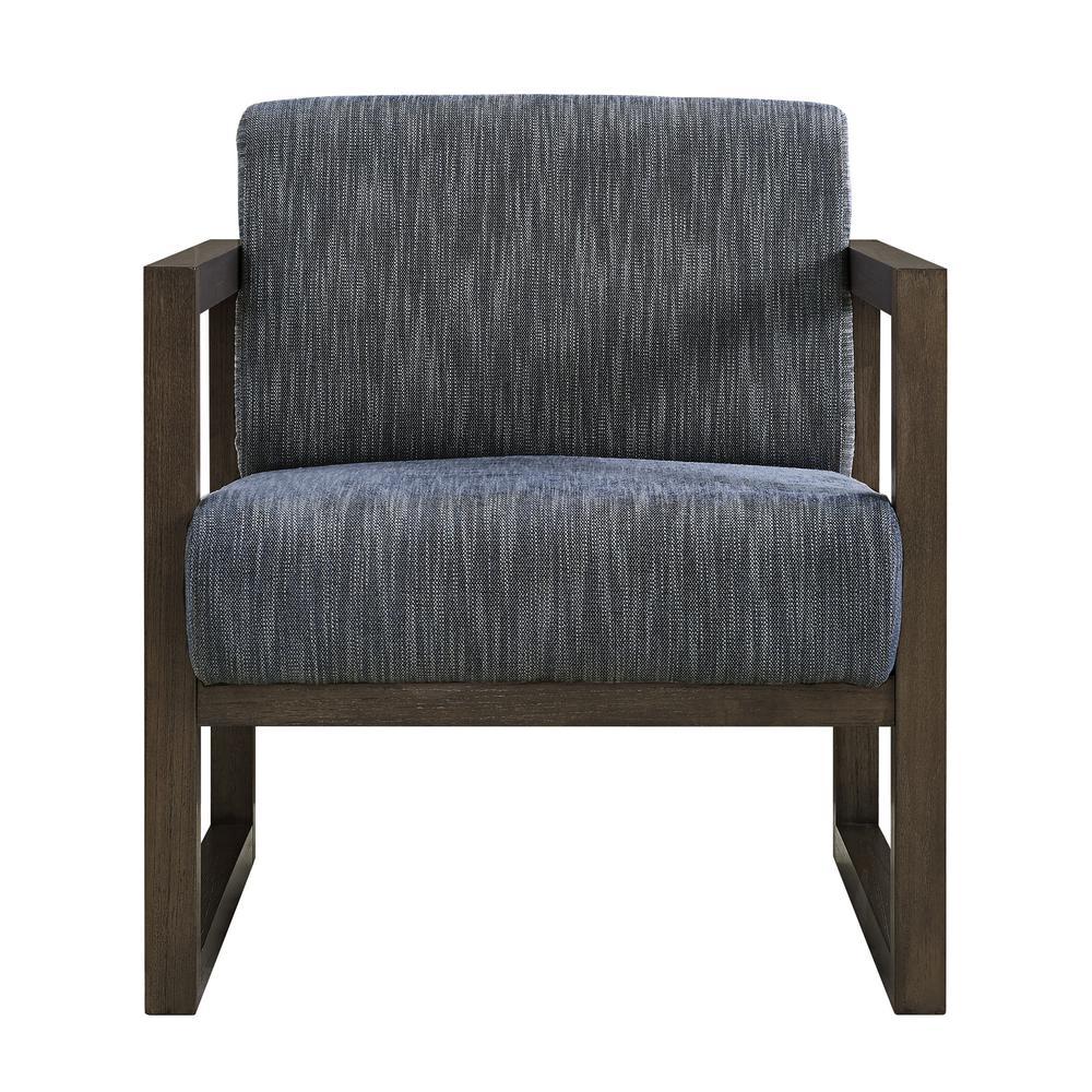 Indigo Modern Style Wood Frame Chair
