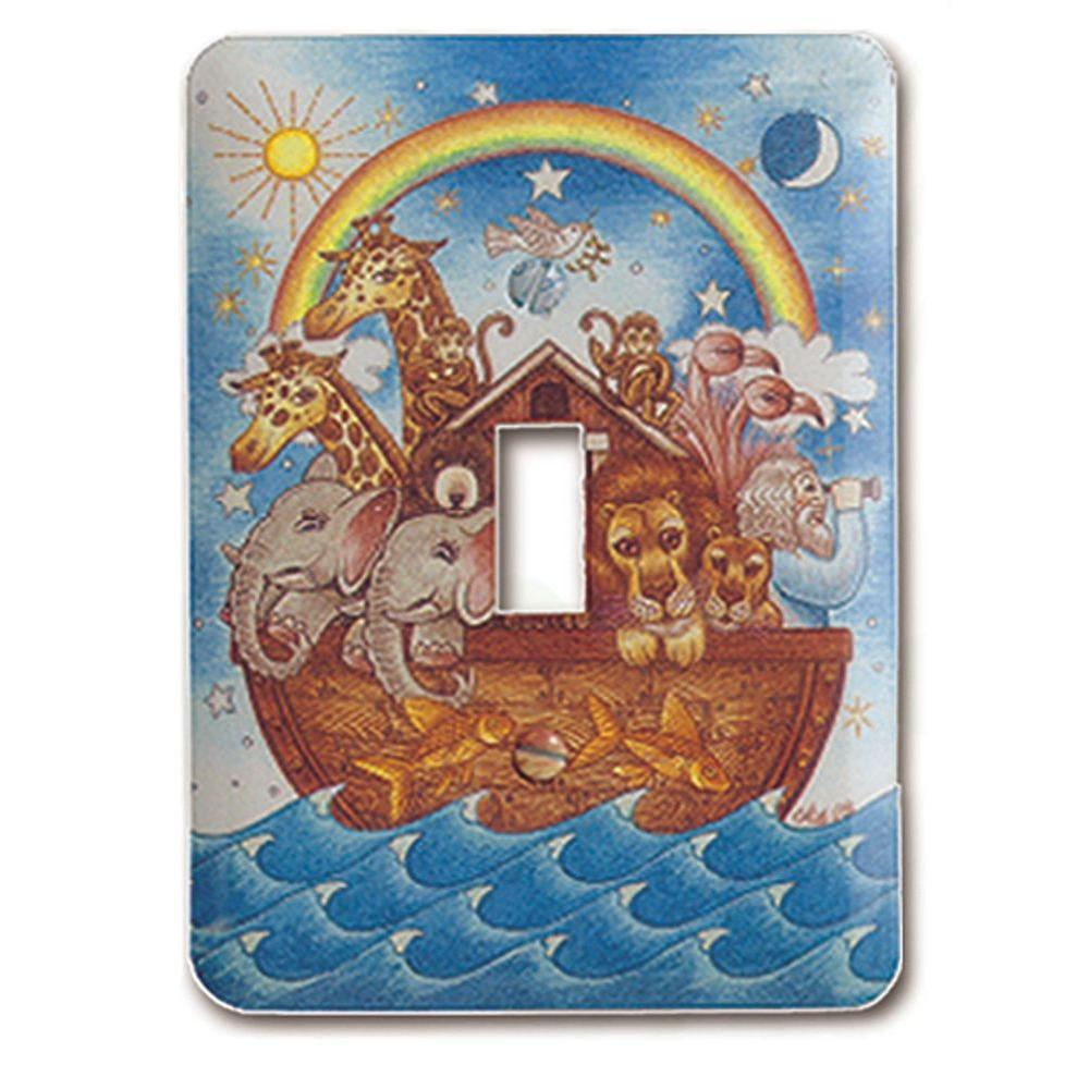 Amerelle Noah's Ark 1 Toggle Wall Plate