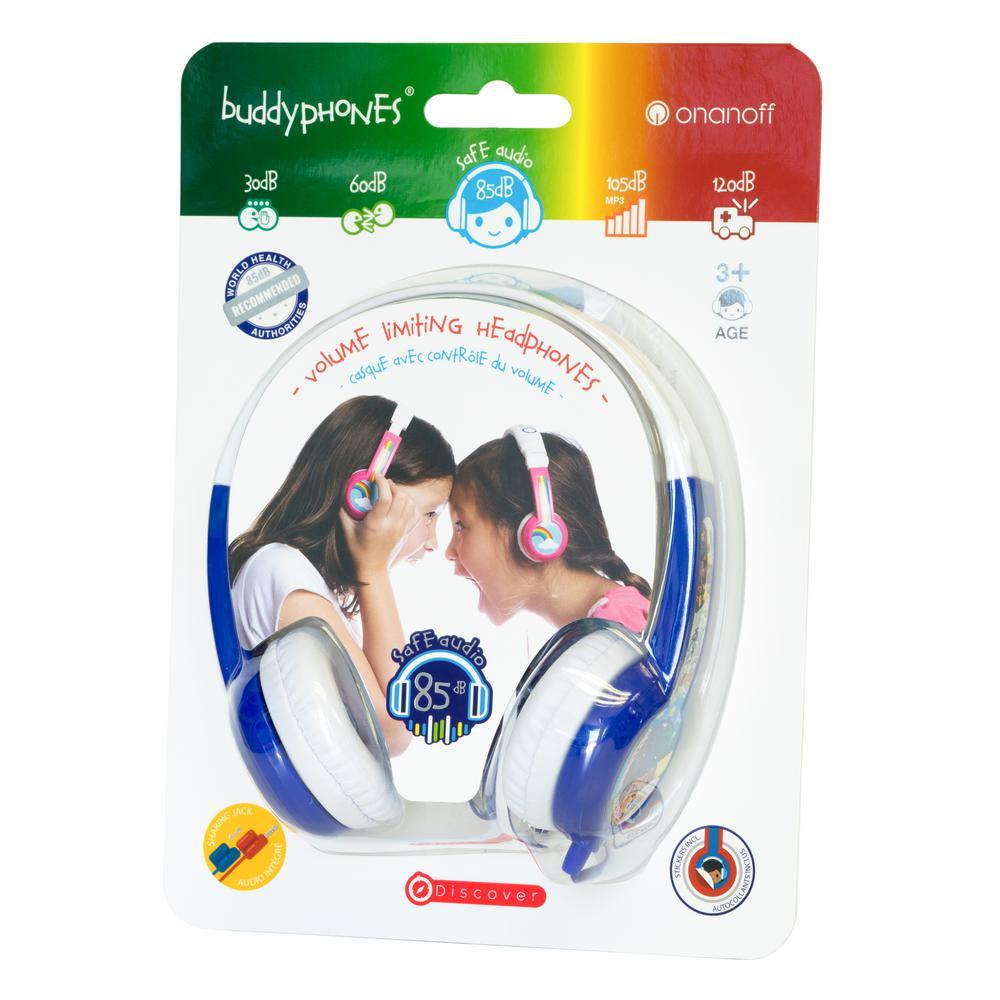 Headphones Discover in Blue