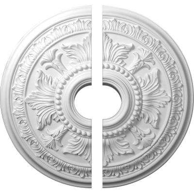 30-5/8 in. x 6 in. x 2-1/2 in. Tellson Urethane Ceiling Medallion, 2-Piece (Fits Canopies up to 6-3/4 in.)