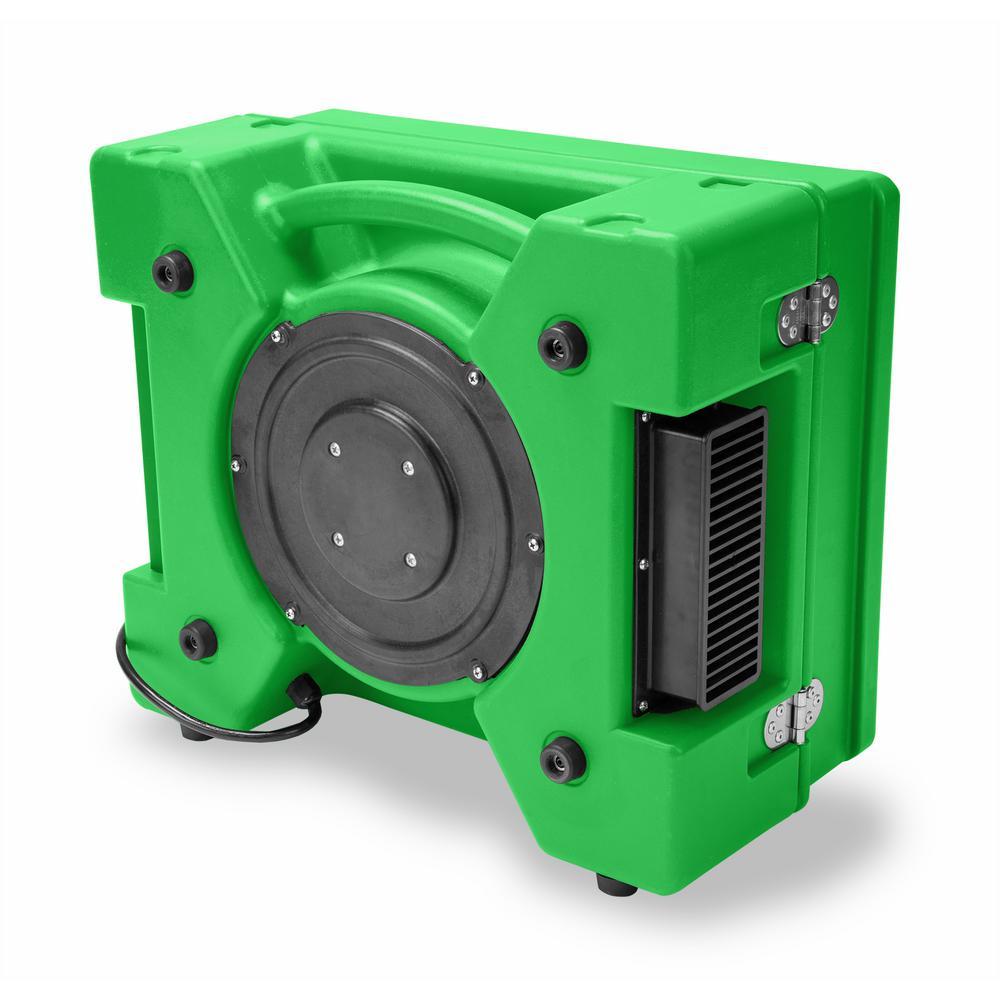 1/3 HP 2.5 Amp HEPA Air Purifier Scrubber for Water Damage Restoration Negative Air Machine in Green (24-Pack)