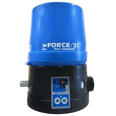 Force/2 Next Generation Wireless Fiberglass/Cellulose Insulation Blower with 9 cu. ft. Hopper