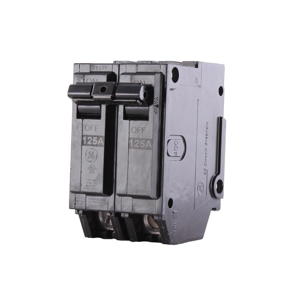 Q-Line 125 Amp 2 in. Double Pole Circuit Breaker