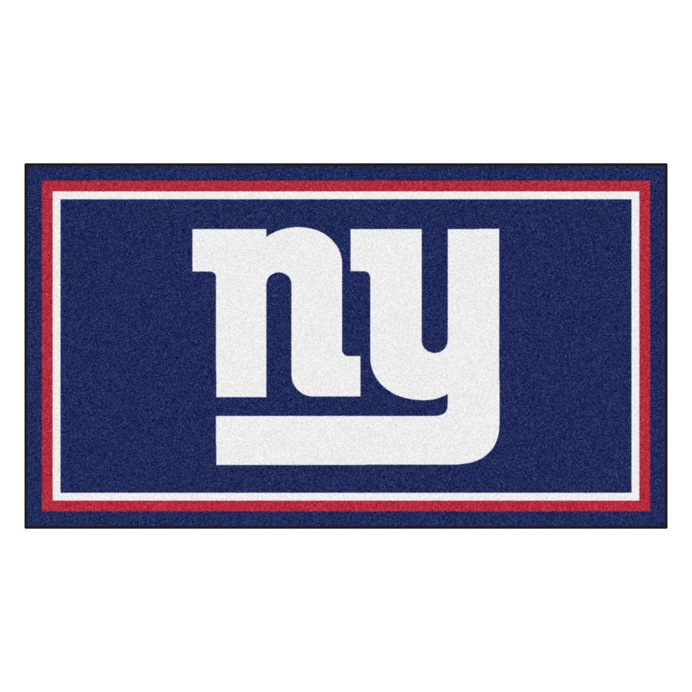 NFL - New York Giants 3 ft. x 5 ft. Ultra Plush Area Rug