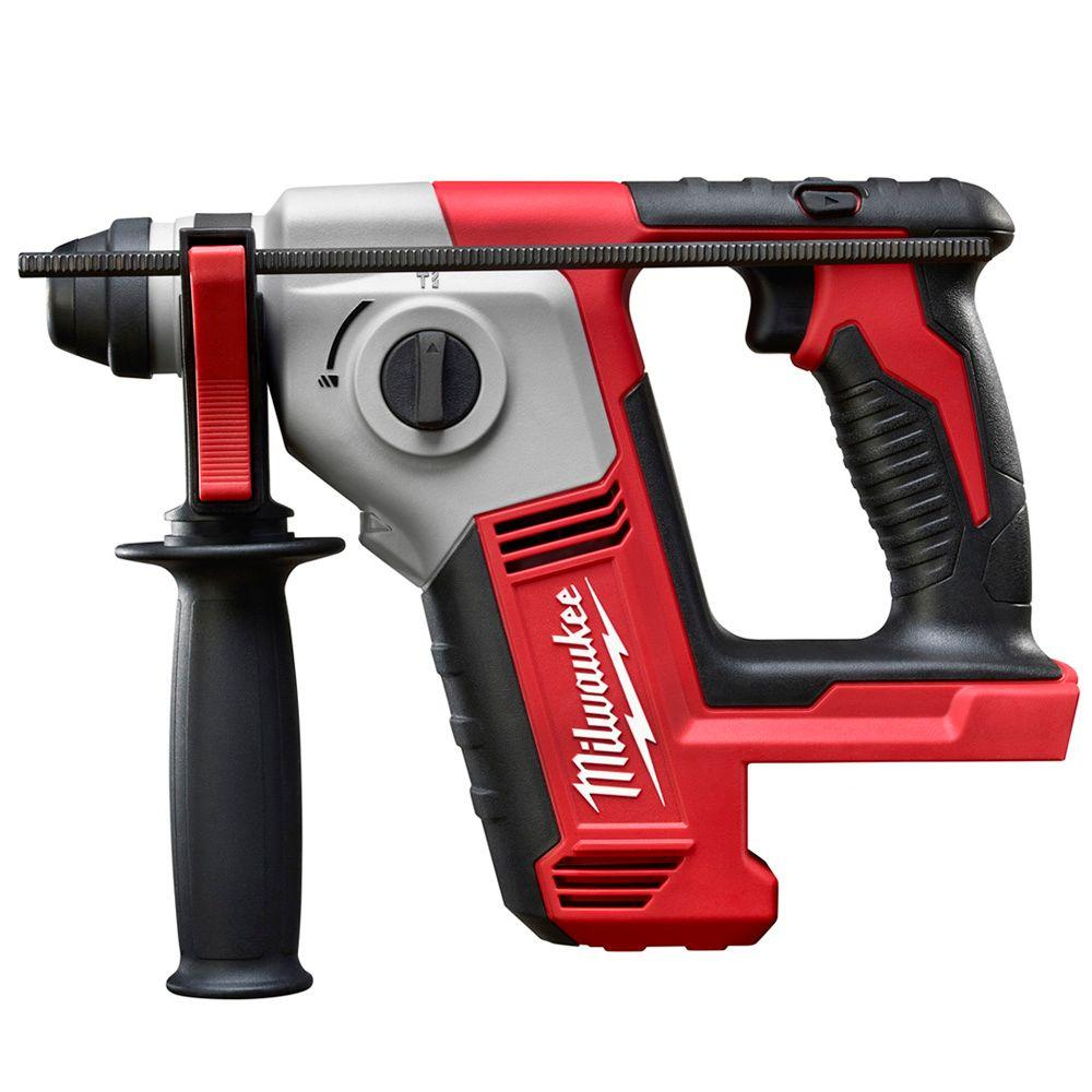 Milwaukee M18 18-Volt Lithium-Ion Cordless 5/8 in. SDS-Plus Rotary Hammer (Tool-Only)